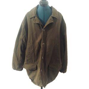 Eddie Bauer Mens Canvas Barn Coat Field Jacket L